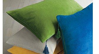Velvet 24x16in Pillows $31.96 Reg. $39.95  each