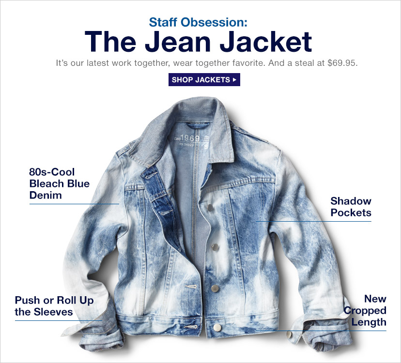 Staff Obsession: The Jean Jacket | SHOP JACKETS