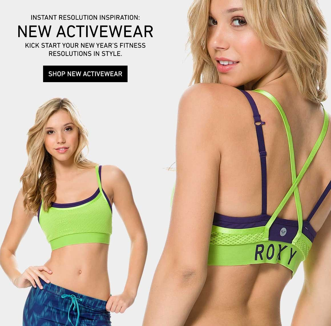 Instant Resolution Inspo: Shop New Activewear