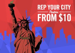 Shop Rep Your City: Posters from $10