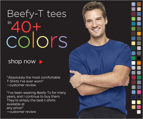 Colorful Beefy-T Tees