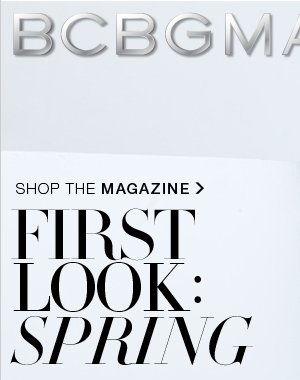 FIRST LOOK: SPRING