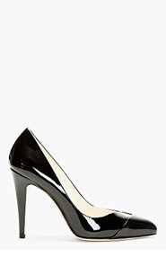 BRIAN ATWOOD Black Patent Leather Mary Pumps for women