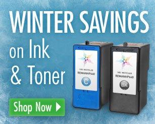 Winter Savings on Ink & Toner - Shop Now