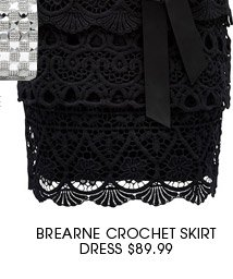 Bearne Crochet Skirt Dress.