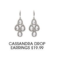 Cassandra Drop Earrings.