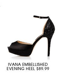 Ivana Emebllished Evening Heel.