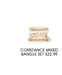 Constance Mixed Bangle Set