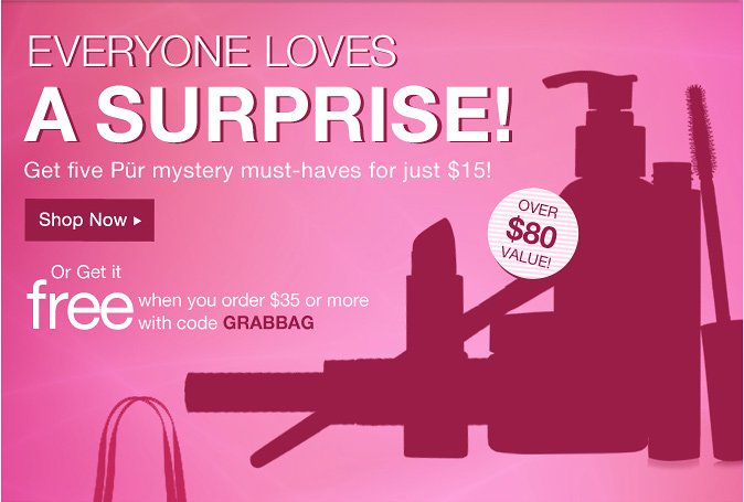 Everyone loves a Surprise! Get five Pur mystery must-haves for just $15!