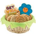 Gluten Free Share a Smile Daisies Basket