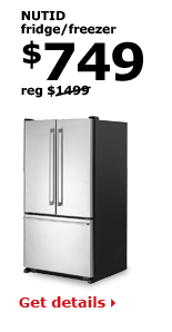 NUTID fridge/freezer | $749