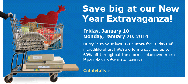 Save big at our New Year Extravaganza!