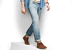 Shop Your Fit: Straight Leg Jeans