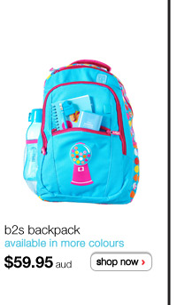 b2s b2s backpack - available in more colours - $59.95 aud - shop now >