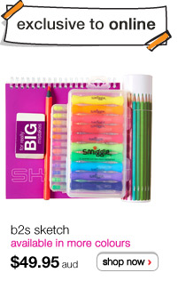 b2s sketch - available in more colours - $49.95 aud - shop now >