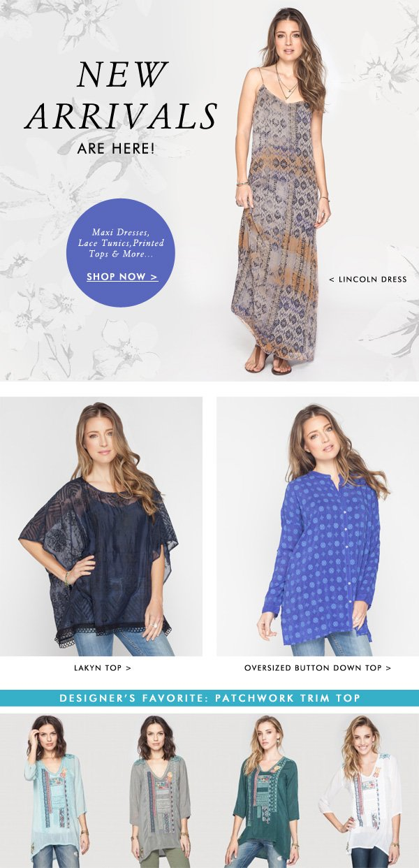 Shop our Featured New Arrival + Bestsellers