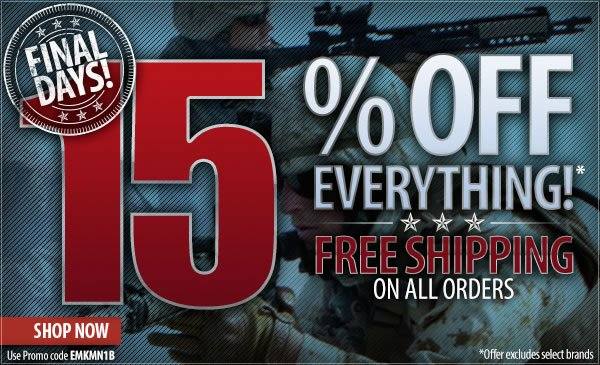 15 percent off Everything + Free Shipping Over 99 dollars