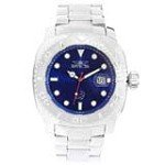 Invicta 14480 Men's Australian Pro Diver Blue Dial Steel Bracelet Automatic Dive Watch