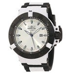 Invicta 10119 Men's Subaqua Noma III Anatomic Silver Sunray Dial Black Bezel Dive Watch