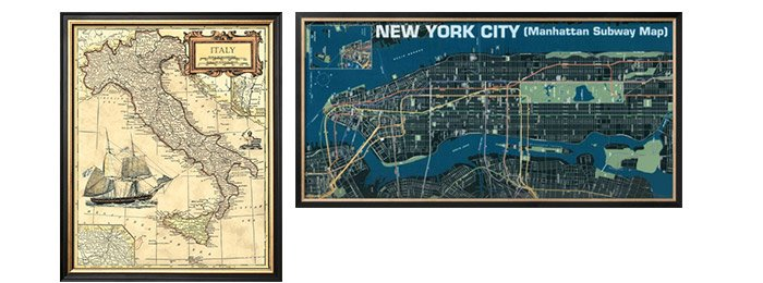 ITALY MAP; Manhattan Subway Map