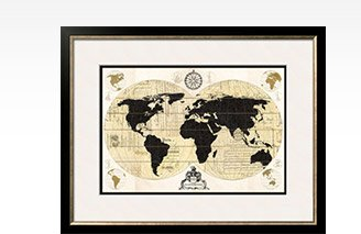 VINTAGE WORLD MAP By: Devon Ross