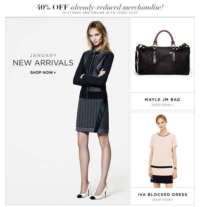 Shop New January Arrivals