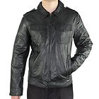 Xelement Mens Urbanite Black Casual Leather Jacket