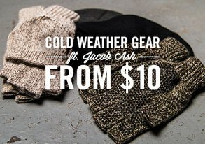 Shop NEW: Cold Weather Gear from $10