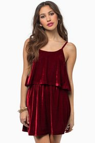 Moonlight Velour Dress 32