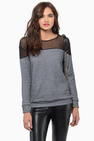Nocturnal Mesh Sweater 28