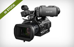 Sony PMW-300 XDCAM Camcorder and Lens