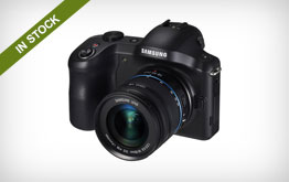 Samsung Galaxy NX Mirrorless Digital Camera Body and 18-55mm Lens Kit