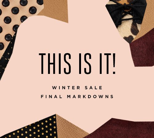 Shop the Loeffler Randall Winter Sale at the Official Store www.LoefflerRandall.com