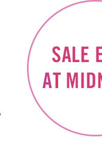 Sale Ends at Midnight!