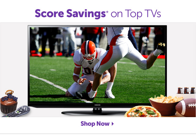 Score Savings* For the Big Game - Shop Now