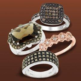 Chocolate & Champagne: Diamond Jewelry