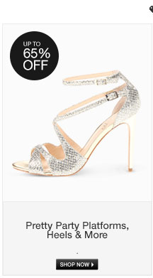 Pretty Party Platforms, Heels and More