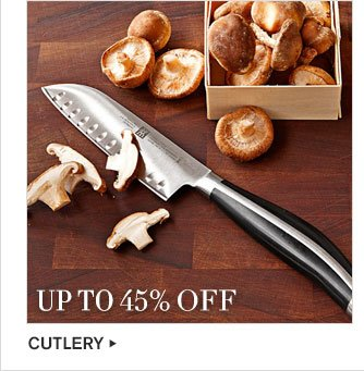 UP TO 45% – CUTLERY