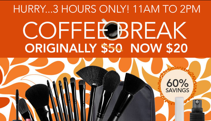 Coffee Break Our Best Sellers Collection! Originally $50 Now $20!