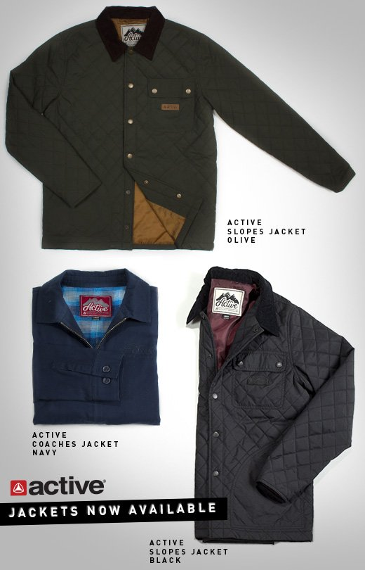 Active Slopes and Coach Jackets