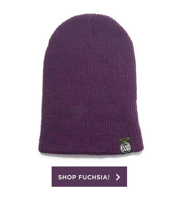 Shop Fuchsia Beanie!