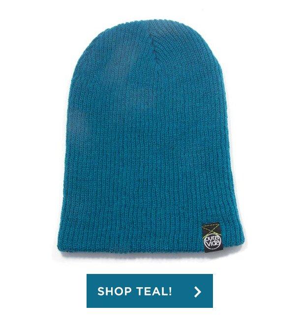 Shop Teal Beanie!