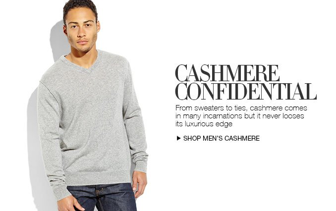 Shop Cashmere Sweaters For Men