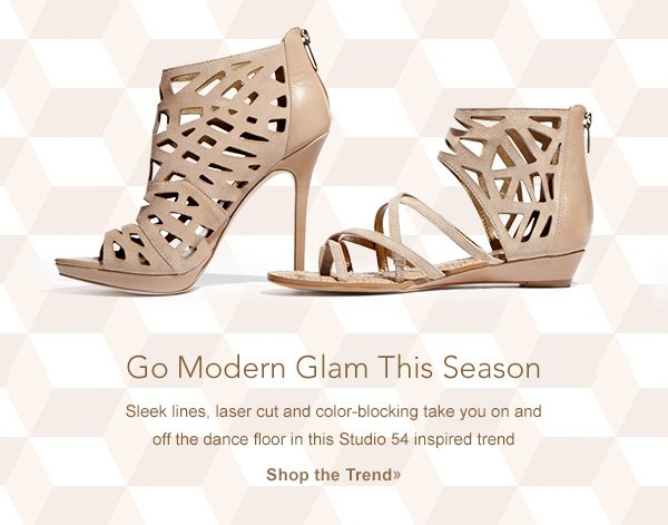 Go Modern Glam This Season. Shop the Trend.