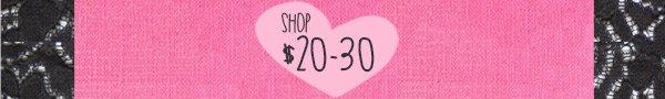 Shop $20-30