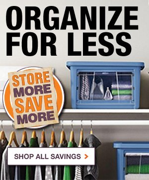 Organize for Less