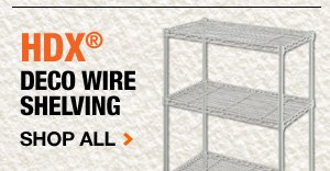 HDX Deco Wire Shelving