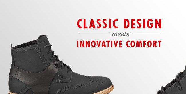 Classic Design meets Innovative Comfort