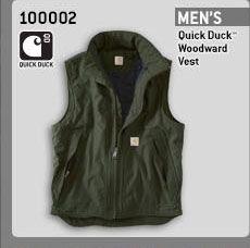 Men's Quick Duck Woodward Vest