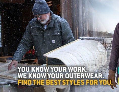 Men's Outerwear Finder